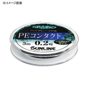 サンライン(SUNLINE) PEコンタクト 5m 0.15号 ブラック 60112190