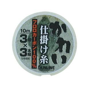 サンライン(SUNLINE) カレイ仕掛け糸10MHG(3号×3本組) 60072782