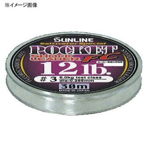 サンライン(SUNLINE) ソルトウォータースペシャルポケットショックリーダーFC30m 60073186