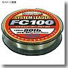 ソルトウォータースペシャルシステムリーダーFC100100MHG 55lb ナチュラルクリア