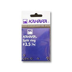 カハラジャパン(KAHARA JAPAN) スプリットリング #3.5 シルバー