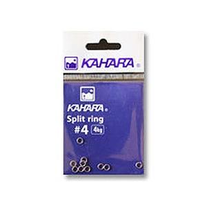 カハラジャパン(KAHARA JAPAN) スプリットリング #4 シルバー