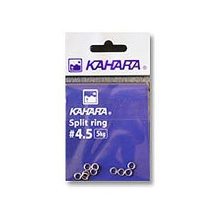カハラジャパン(KAHARA JAPAN) スプリットリング #4.5 シルバー