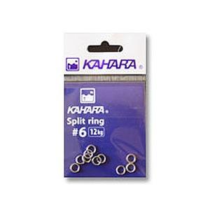 カハラジャパン(KAHARA JAPAN) スプリットリング #6 シルバー