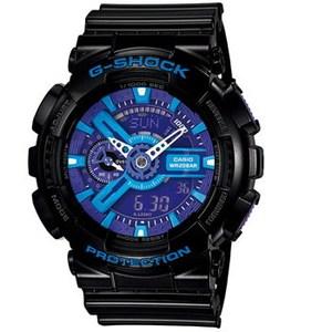【送料無料】G-SHOCK(ジーショック) 【国内正規品】 GA-110HC-1AJF ブラックxブルー