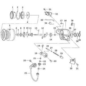 ダイワ(Daiwa) パーツ:フリームス KIX2506 スプールメタルリング NO.006 185116