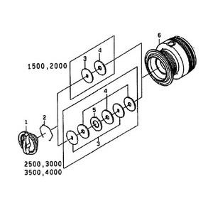 ダイワ(Daiwa) パーツ:ワールドスピンR 4000 ドラグリップW NO.005 143074