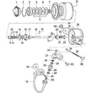 ダイワ(Daiwa) パーツ:ソルティガZ4500H スプールメタルOリング(B) NO.012 10J060