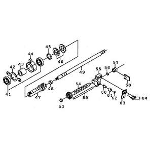 ダイワ(Daiwa) パーツ:10クロスキャスト 6000 ピニオン NO.047 154559 投げ専用その他パーツ
