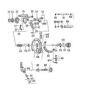 ダイワ(Daiwa) パーツ:IZE ITOモノブロック100XR クラッチSP NO.044 133522