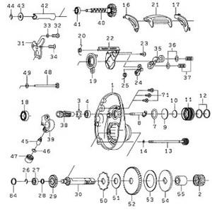 ダイワ(Daiwa) パーツ:アグレストPEスペシャル 100H メカニカルブレーキノブW(A) NO.009 190131 マグブレーキ用その他パーツ