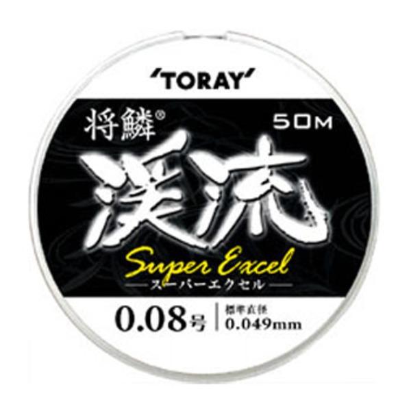 東レモノフィラメント(TORAY) 将鱗 渓流SUPER EXCEL 50m 渓流用50m