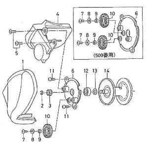 ダイワ(Daiwa) パーツ:ハイパータナセンサー500F ICモジュールSC NO.005 102038