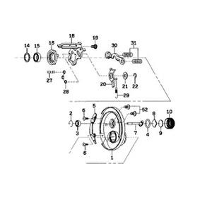 ダイワ(Daiwa) パーツ:ミリオネアICV100R クラッチプレートSP NO.031 133522