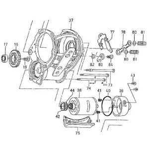 ダイワ(Daiwa) パーツ:シーボーグ 500R フィンガーガード NO.075 199765