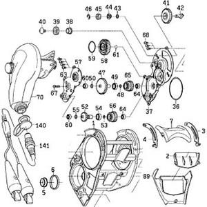 ダイワ(Daiwa) パーツ:シーボーグ300メガツイン フィンガーカバー NO.089 199779