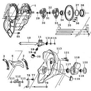 ダイワ(Daiwa) パーツ:レオブリッツ 500MT ポールホルダーナット NO.020 165019