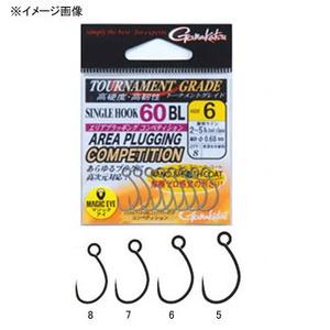がまかつ(Gamakatsu) TGW シングルフッ�� 60BL エリアプラッギング コンペティション 68114