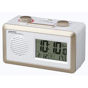【クリックで詳細表示】ADESSO(アデッソ)AM/FMラジオ電波時計 RD-J329W