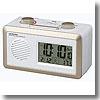 ADESSO(アデッソ) AM/FMラジオ電波時計 RD−J329W
