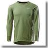 フリーノット(FREE KNOT) レイヤーテックアンダーシャツエクスペディション厚手 L カーキグリーン
