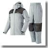 防水防寒タオルパッドスーツ・パロット 3L 21(グレー)