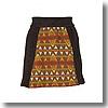シュリンクウールスカート Women's L 076 ブラウン