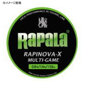 Rapala(ラパラ) ラピノヴァ・エックス マルチゲーム 200m 1.5号/29lb ライムグリーン