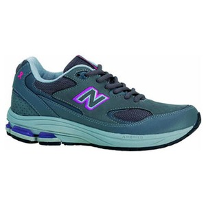 【送料無料】new balance(ニューバランス) NBJ-WW1501GP2E Fitness Walking LADY'S 2E/22.0cm GRAYxPURPLE