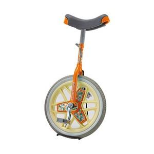 【送料無料】ダンノ(DANNO) ブリヂストン一輪車 スケアクロウ 16インチ オレンジ D3522OR