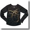 XX726C グラフィックLSシャツ Women's L 97(シッコク)