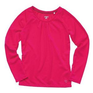アシックス(asics) ドライロングTシャツ Women's L 19(アカムラサキ)