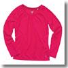 ドライロングTシャツ Women's L 19(アカムラサキ)