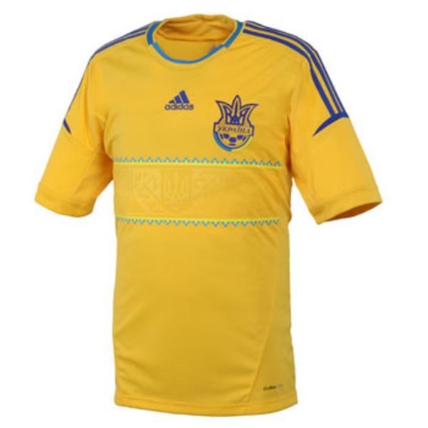 adidas(アディダス) ウクライナ代表ホームレプリカジャージーS/S Men's AJP-ZU521 サッカー・フットサル用ウェア