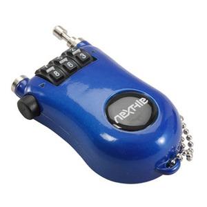 アウトドア&フィッシング ナチュラムNEXTYLE(ネクスタイル) ダイヤル式ワイヤーロックNT-K sk ブルー 13486