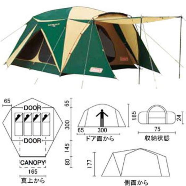 Coleman(コールマン) スクリーンキャノピードーム/300 2000010461 ファミリードームテント