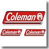 Coleman(コールマン) 3PCSオフィシャルステッカー
