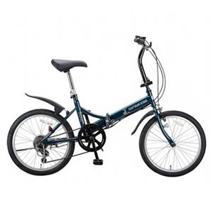 【送料無料】キャプテンスタッグ(CAPTAIN STAG) フォルダーFDB206 折りたたみ自転車 20インチ グリーン YC-9846