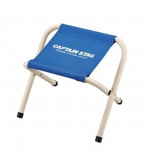 キャプテンスタッグ(CAPTAIN STAG) パレット スツール ミニチェア/腰かけ/椅子/キャンプ/レジャー用 ミニ マリンブルー M-3927