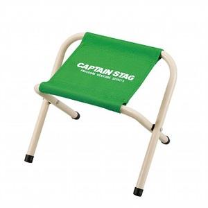 キャプテンスタッグ(CAPTAIN STAG) パレット スツール ミニチェア/腰かけ/椅子/キャンプ/レジャー用 ミニ ライトグリーン M-3928
