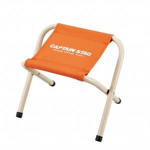 キャプテンスタッグ(CAPTAIN STAG) パレット スツール ミニチェア/腰かけ/椅子/キャンプ/レジャー用 ミニ オレンジ M-3929