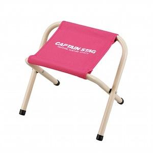 キャプテンスタッグ(CAPTAIN STAG) パレット スツール ミニチェア/腰かけ/椅子/キャンプ/レジャー用 ミニ ピンク M-3931