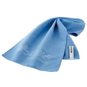 ロゴス(LOGOS) ひんやりドライタオル ブルー 81690150