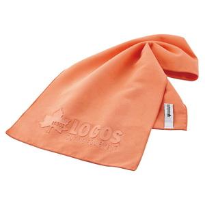 ロゴス(LOGOS) ひんやりドライタオル オレンジ 81690152