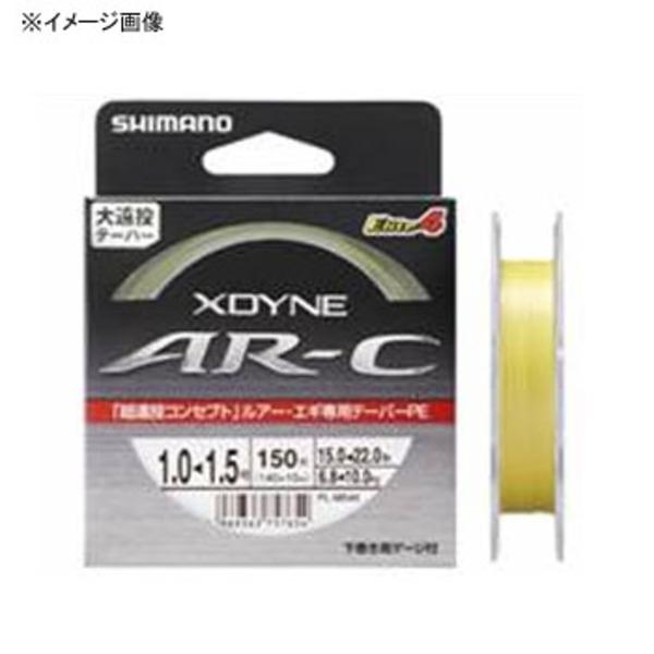 シマノ(SHIMANO) PL-M54K X-DYNE AR-C Elite4(エリート4) 150m PL-M54K イエロー 0.8-1.2 オールラウンドPEライン