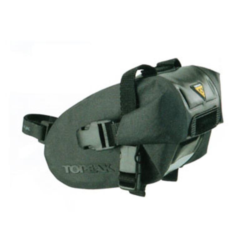 TOPEAK(トピーク) ウェッジ ドライバッグ (ストラップ マウント) Sサイズ S ブラック BAG27100