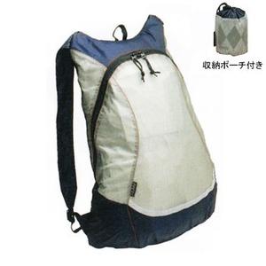 GIZA PRODUCTS(ギザプロダクツ) ミニフィ コンパクト バックパック 12L ライトグレー BAG27501