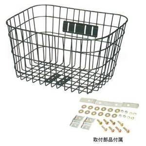 GIZA PRODUCTS(ギザプロダクツ) W-114丸型 ワイド バスケット ブラック BKT05100