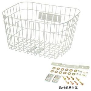 GIZA PRODUCTS(ギザプロダクツ) W-114丸型 ワイド バスケット シルバー BKT05101