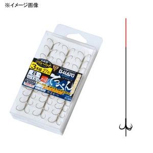 がまかつ(Gamakatsu) バリューパック G-HARD(ジーハード) てっぺん 3本錨 鈎6.5/ハリス1 茶 11745